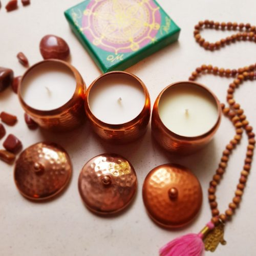 Ayurveda-Kerzen Dreier Set