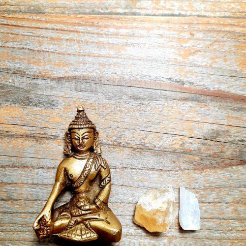 Buddha aus Messing